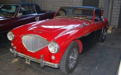 Austin-Healey 100-4 BN2 – 1956