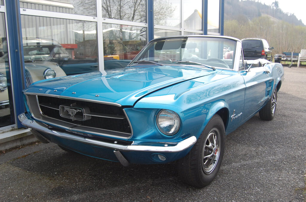 Ford Mustang 4,7L – 1967