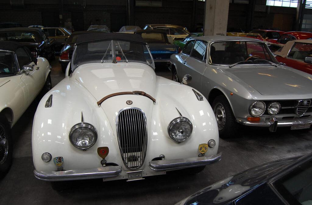 Jaguar XK 120 – 1952