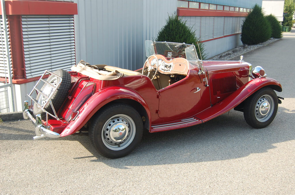 MG TD – 1952